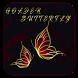 Gold Butterfly theme wallpaper
