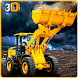 Excavator Construction Crane by Game Wheel