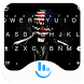 Dark Evil Joker Keyboard Theme by Sexy Free Emoji Keyboard
