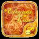 GO SMS ELEGANT ROSE THEME by ZT.art