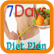 7-Day Weight-Loss Diet Plan by Pissuda Studio