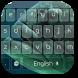 Fish Blue Keyboard Theme by Keyboard Theme Factory