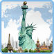 Statue of Liberty background by Keyboard and HD Live Wallpapers