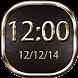 Luxury Clock Widget by Level Pro