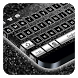 Black Silver Keyboard by Cool Theme Studio