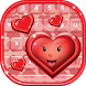 Cute Hearts Keyboard Designs by Cool Nano Apps
