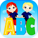 English alphabet:Trace letters by The best game