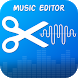 Music Editor – Audio Editor, Mp3 Cutter by Creative Tool Apps
