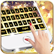 Pure Gold Keyboard Theme by Super Cool Keyboard Theme