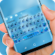 Lucky blue Keyboard by Super Hot Theme Studio 2018
