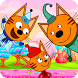 Three cats:cars adventure by hax.rouble
