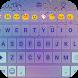 Rain Glass Love Emoji Keyboard by Colorful Design