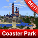 Coaster Park Maps for MCPE by BestMapsAddons