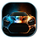 Flame Racing Car Keyboard by live wallpaper collection