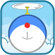 Flying Blue Cat Theme&Emoji Keyboard by Music Emoji Keyboard Theme