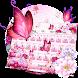 Flower Butterfly Keyboard Theme