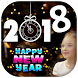 Happy New Year Photo Frame 2018 by Photo Collage Editor