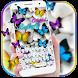 Colorful Butterflies Keypad by Ajit Tikone