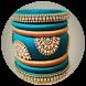 Silk Thread Bangles by Adianox