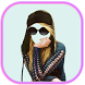 Girls Sun Glasses selfie by Free Apps Collection
