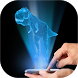 Hologram Dinosaur simulator Camera 3D by halloweencity