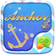 (FREE) GO SMS PRO ANCHOR THEME by ZT.art