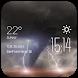 Tornado Temp weather widget by Widget Studio