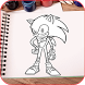 How To Draw Sonik by BBox Best apps