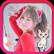 Cat face Camera Filter Sticker by SweetLoveElily