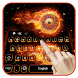 Fire wheel keyboard by Echo Keyboard Theme