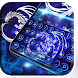 Neon bluefire basilisk dragon typewriter theme
