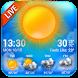 Bluesky Theme Weather Widget by Weather Widget Theme Dev Team
