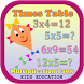 Times / Multiplication Table by Kids Strawberry Apps