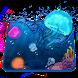 Aquarium Jelly Fish 3D Theme by Launcher 3D Pro