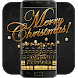 Golden Merry Christmas music keyboard by Bestheme Pink shining album collection