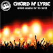 Chord and lyric music update by doradroid