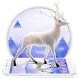 Silver Moon Crystal Deer Theme by Cute Theme Art Studio