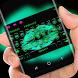 Sexy Keyboard Green Neon Kiss by Gummi Sour Hearts Studio