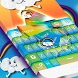 Keyboard Theme Cartoon by Themes World