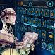 blue ai future robot keyboard machine space theme by Keyboard Theme Factory