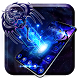 Neon bluefire hale dragon theme by Mobile themes by Pixi