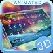Aurora 3D Theme&Emoji Keyboard by Cool Keyboard Theme Design