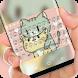 Kitty Hug Keyboard by Jubee Theme Studio