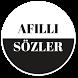 Afilli Sözler by Catepe