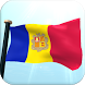 Andorra Flag 3D Free Wallpaper by I Like My Country - Flag