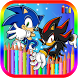 Coloring Book For Sonic Games by BLGSLDEV