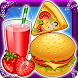 Pizza Burger & Drinks Maker by Funtoosh Studio