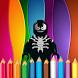 Coloring Lego Venom by neomas10