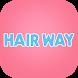 長岡駅前にある美容室「HAIR WAY」の公式アプリ by GMO Digitallab, Inc.
