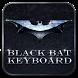 Black Bat Keyboard Theme by Keyboard Design Paradise